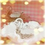 渋谷ヒカリエ21日目 新商品入荷♪ ガラスのスワンキャンドル