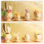 かわいい陶器のプランター