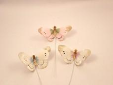 羽の蝶ちょパステル3匹セット(S)A