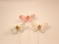羽の蝶ちょパステル3匹セット(S)B