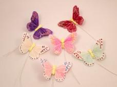 羽の蝶ちょ6匹セット(S)A