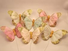 羽の蝶ちょ6匹セット(L)B