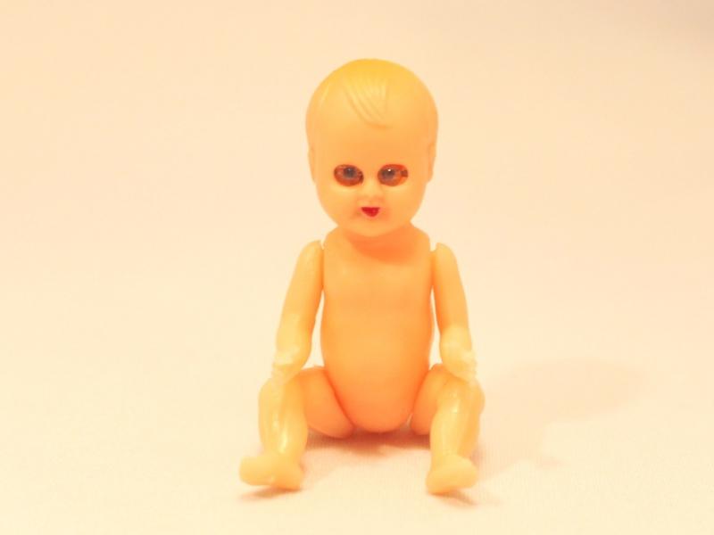ミニチュアドール 赤ちゃん アメリカ ヴィンテージDeco
