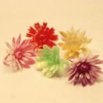 レトロプラスチック お花の指輪