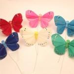 羽の蝶ちょビビッド6匹セット(S)