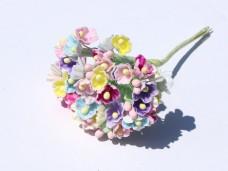 小花のブーケ マルチカラーの造花