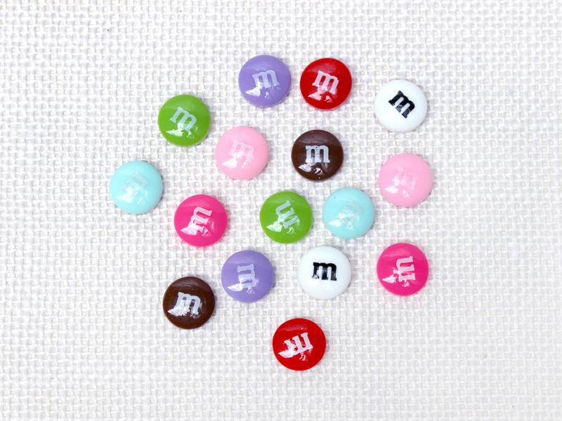 ビビットカラーのmチョコセット