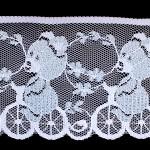 くまの刺繍レース イングランドアンティーク ヴィンテージDeco