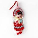 昭和レトロ 小さな女の子のお人形