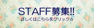 スタッフ募集 川越・渋谷・原宿