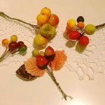秋の手芸に♪木の実のペップ*フランスアンティーク*池袋パルコ