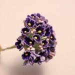 小花のブーケ パープルの造花