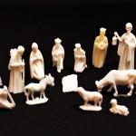 キリスト誕生のミニフィギュア ヴィンテージ