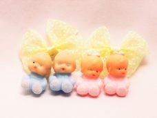 ミニチュア ソフビ人形 赤ちゃん・ベビー 1980 ヴィンテージ