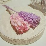 スズランのアンティーク造花*ピンク•紫のご紹介*渋谷ヒカリエ