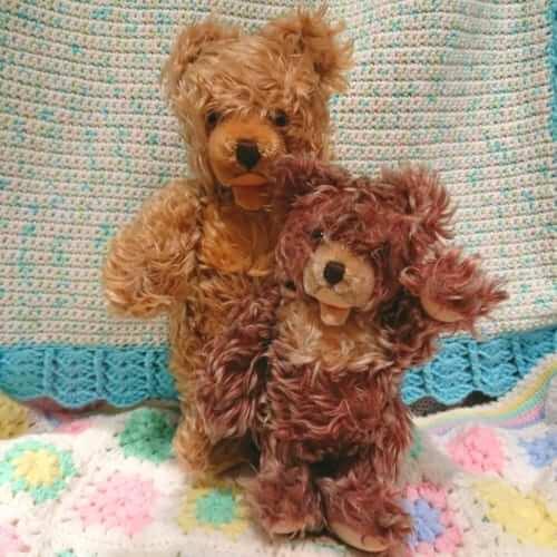 シュタイフ社 Zotty bear アンティーク オープンマウス 銀座ロフト店 ヴィンテージDeco