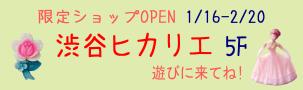 渋谷ヒカリエ 期間限定ショップ ヴィンテージDeco