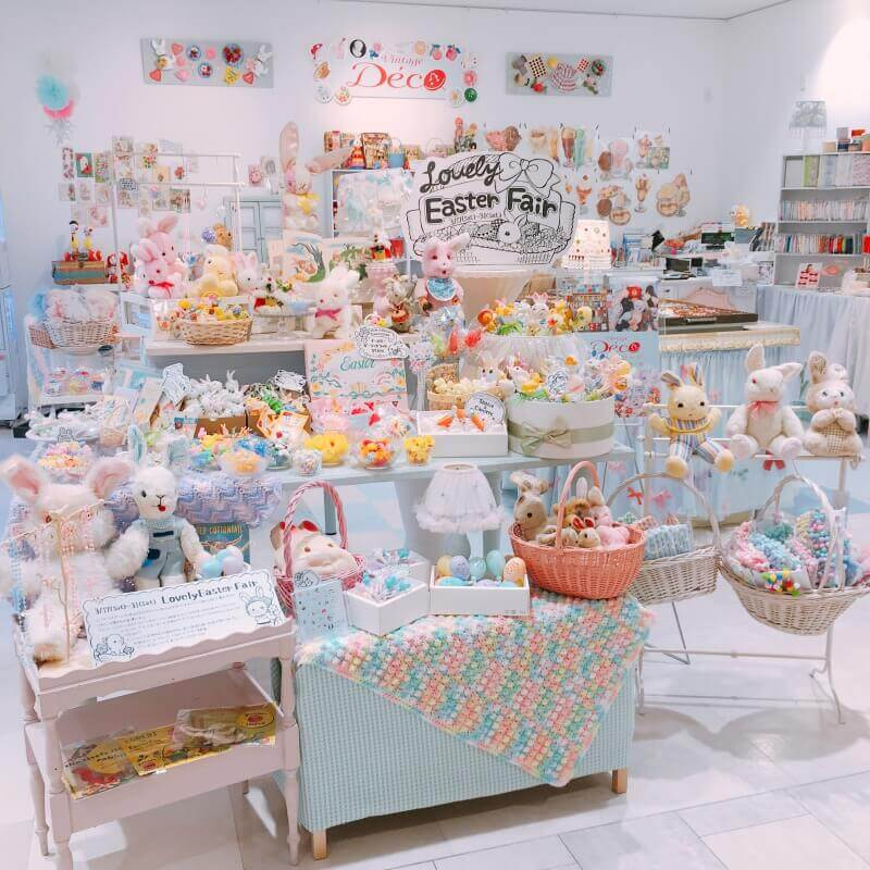 Lovely Easter Fair 新宿マルイアネックス限定SHOP ヴィンテージDeco