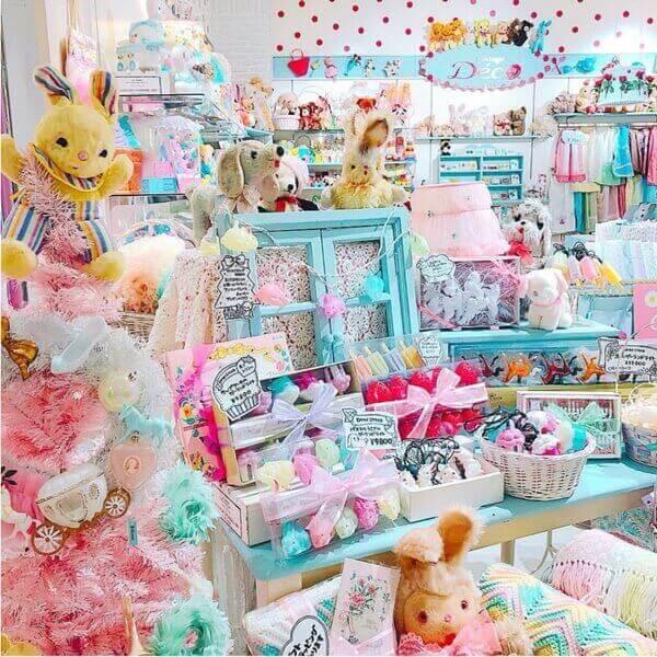 パステルカラーのクリスマスオーナメント ヴィンテージDecoのクリスマス 新宿マルイアネックス店